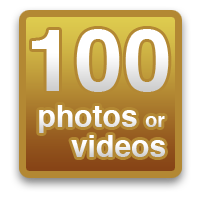 Share 100 photos or videos