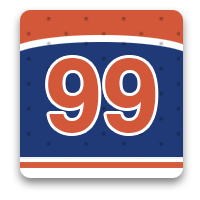 99 hockey photos in honor of The Great One, Wayne Gretzky