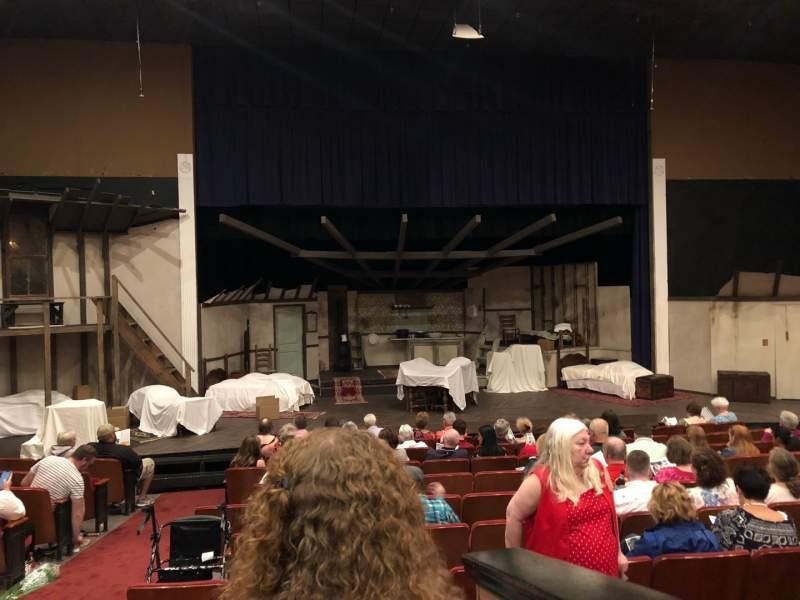 Uitzicht voor DeSoto Theater Vak Loge Left Rij J Stoel  117
