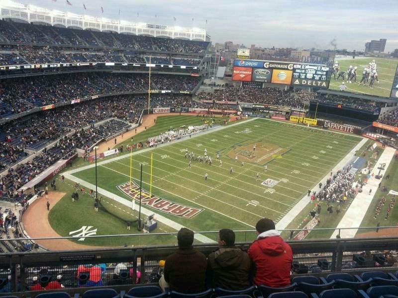 Yankee Stadium, vak: 417, rij: 5, stoel: 8