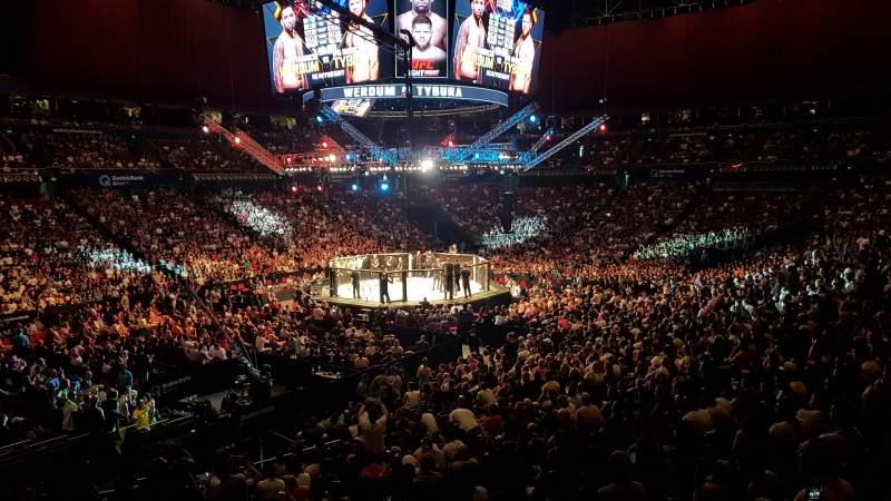 Uitzicht voor Qudos Bank Arena Vak 18-1 Rij KK Stoel 384