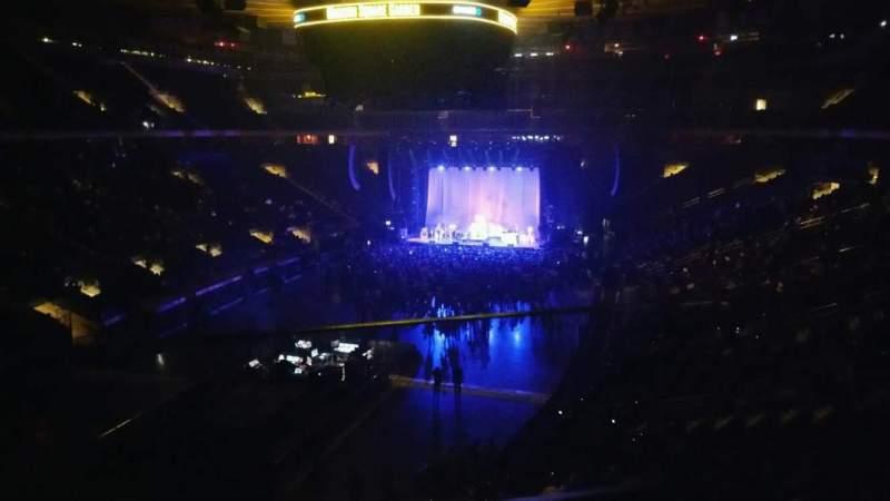 Madison Square Garden, vak: 206, rij: 1, stoel: 1
