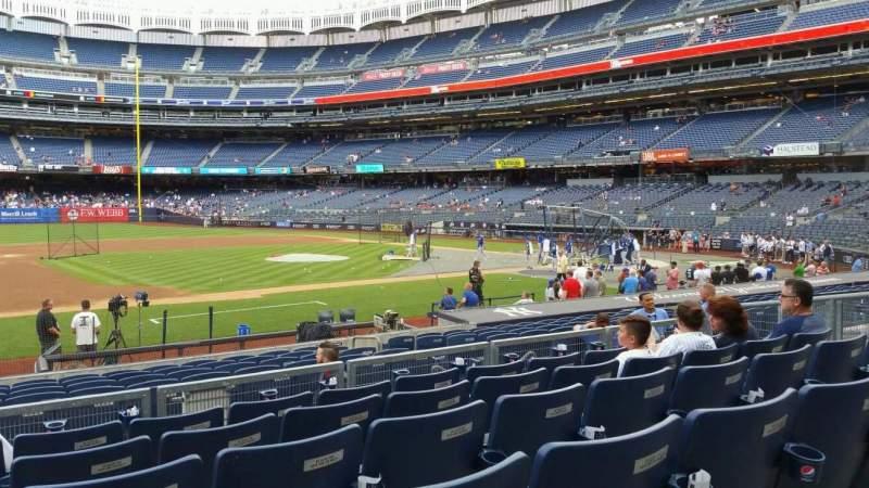 Yankee Stadium, vak: 125, rij: 6, stoel: 14