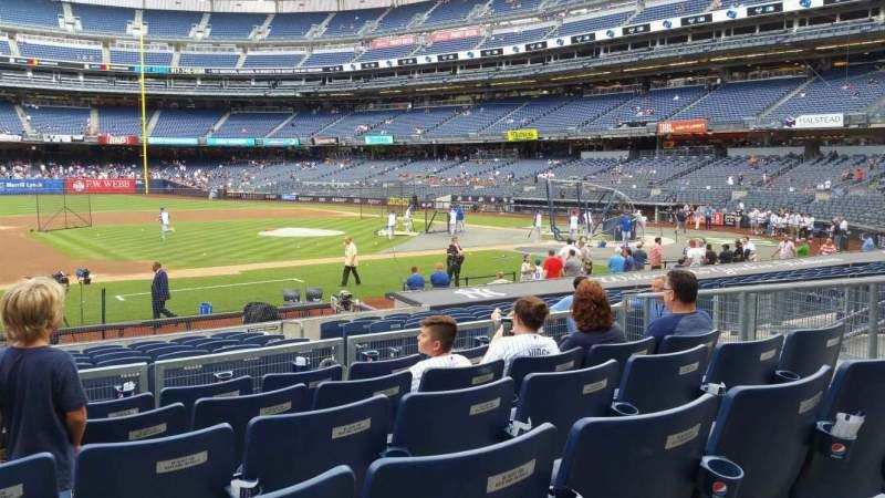 Yankee Stadium, vak: 125, rij: 6, stoel: 11