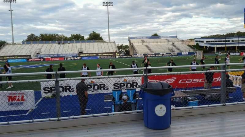 Uitzicht voor James M. Shuart Stadium Vak 3 Rij 3 Stoel 20