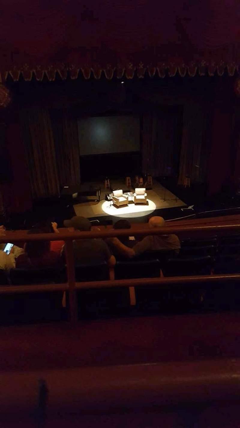Uitzicht voor Riverside Theater (Milwaukee) Vak 2LC Rij F Stoel 9