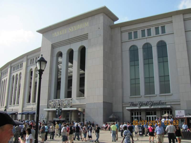 Yankee Stadium, vak: Gate 6