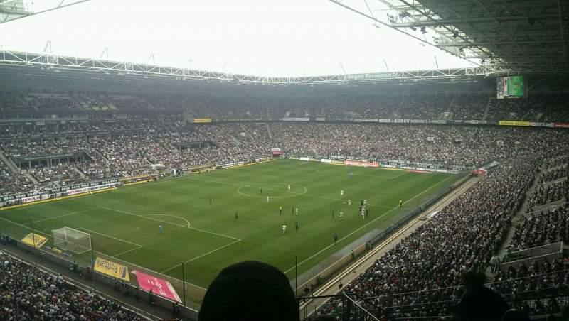 Uitzicht voor Borussia Park Vak 6A Rij 10 Stoel 4