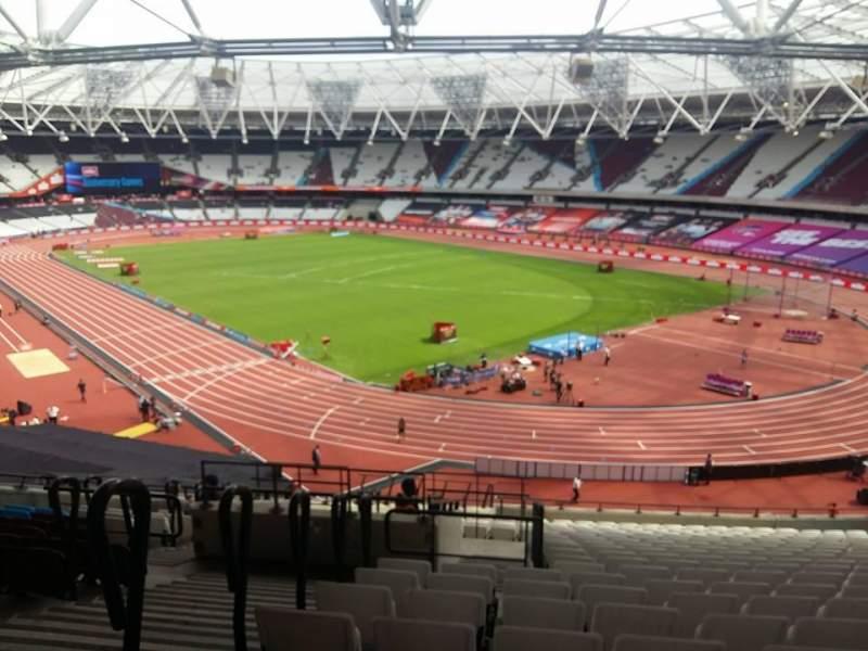 London Stadium, vak: 216, rij: 51, stoel: 175-177