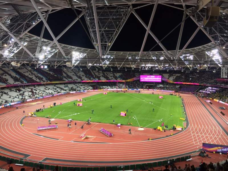 London Stadium, vak: 253, rij: 56, stoel: 789