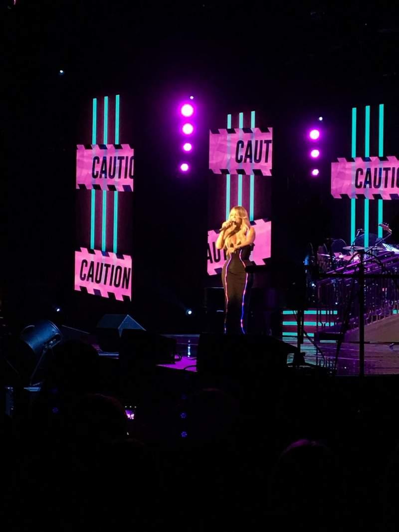 Uitzicht voor Hard Rock Live at Etess Arena Vak 101 Rij C Stoel 9