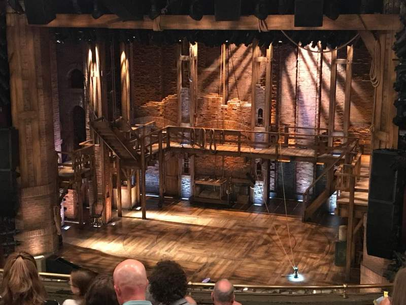 CIBC Theatre, vak: Mezzanine R, rij: J, stoel: 2