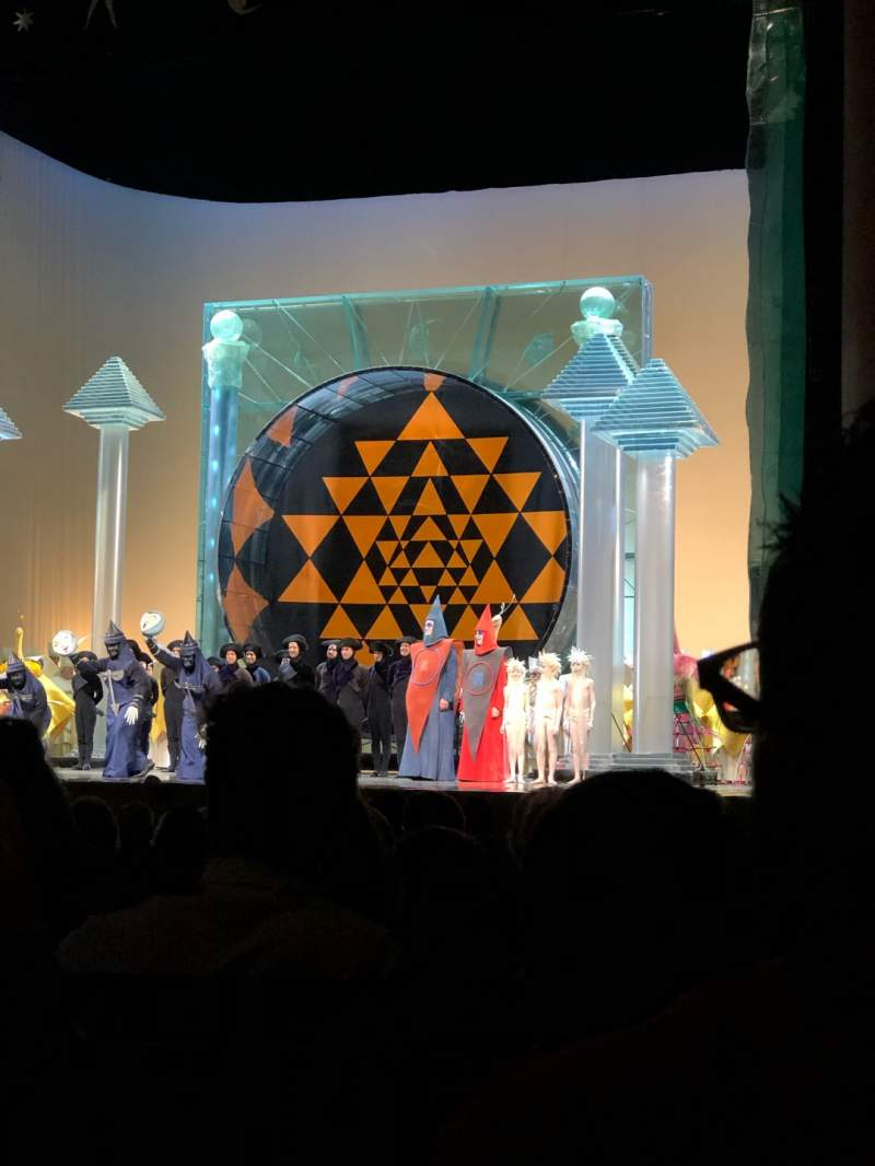 Uitzicht voor Metropolitan Opera House - Lincoln Center Vak Orchestra Rij N Stoel 16