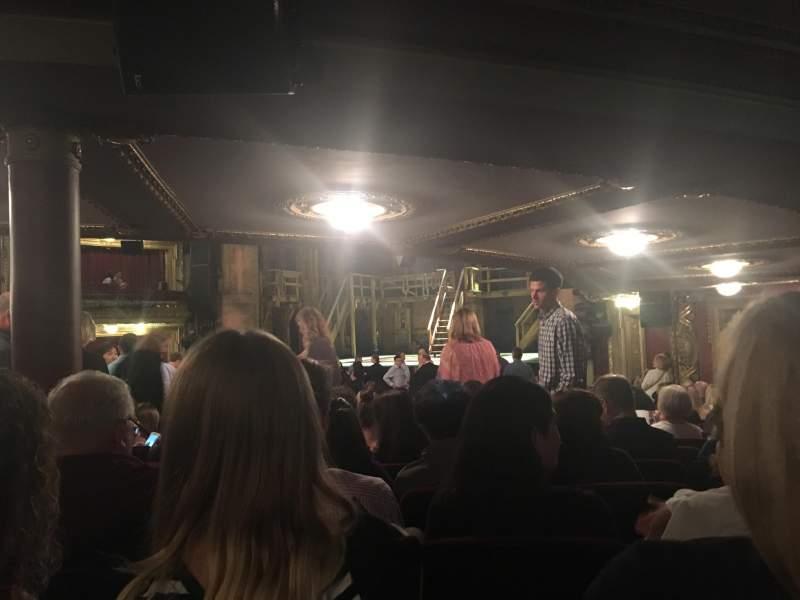 CIBC Theatre, vak: Orchestra R, rij: X, stoel: 12
