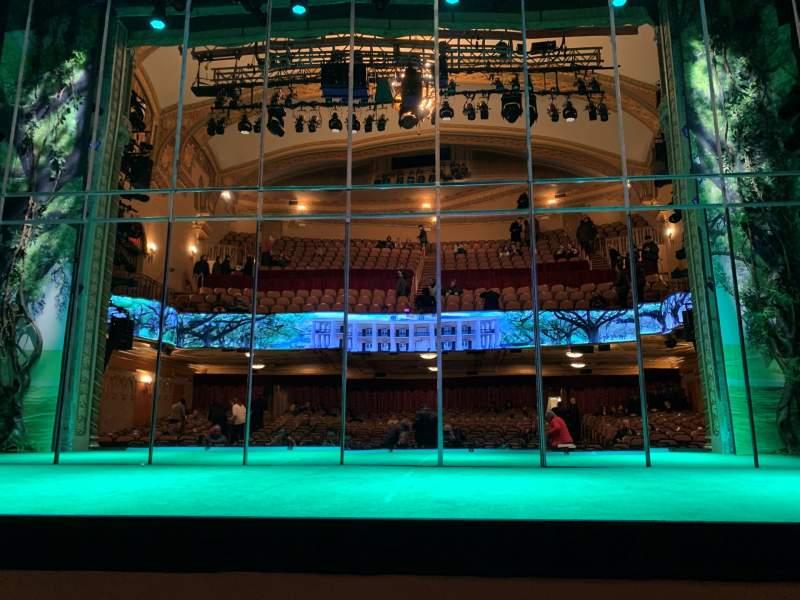 Uitzicht voor John Golden Theatre Vak Orchestra C Rij B Stoel 108