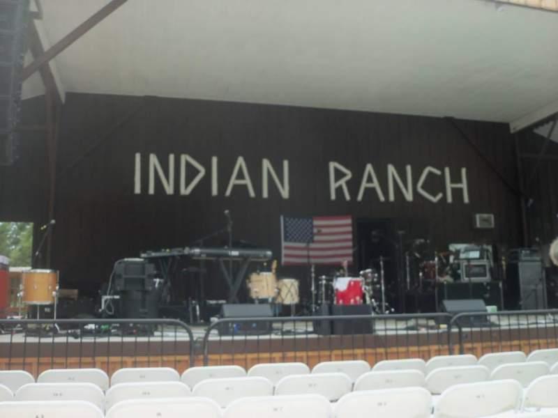 Uitzicht voor Indian Ranch Vak Floor Left Rij 6A Stoel 8