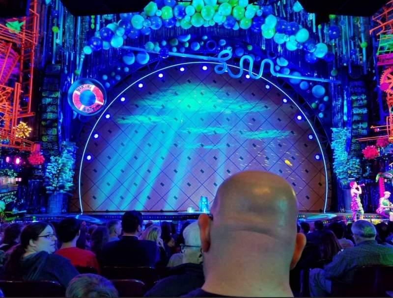 Palace Theatre (Broadway), vak: ORCH, rij: O, stoel: 101