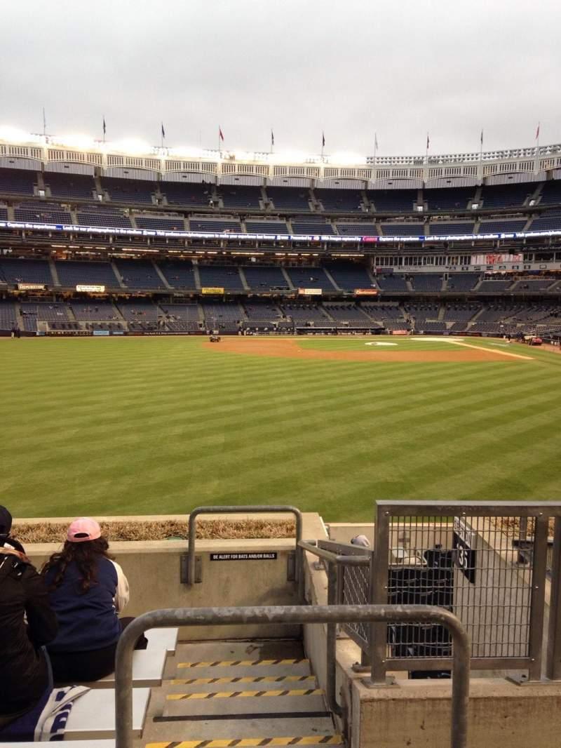 Yankee Stadium, vak: 236, rij: 7, stoel: 2
