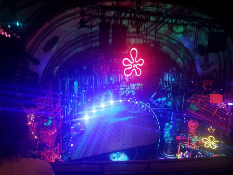 Palace Theatre (Broadway), vak: Balcony, rij: C, stoel: 15