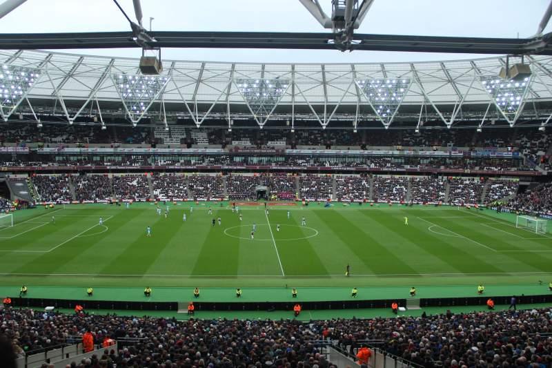 London Stadium, vak: 236, rij: 49, stoel: 443