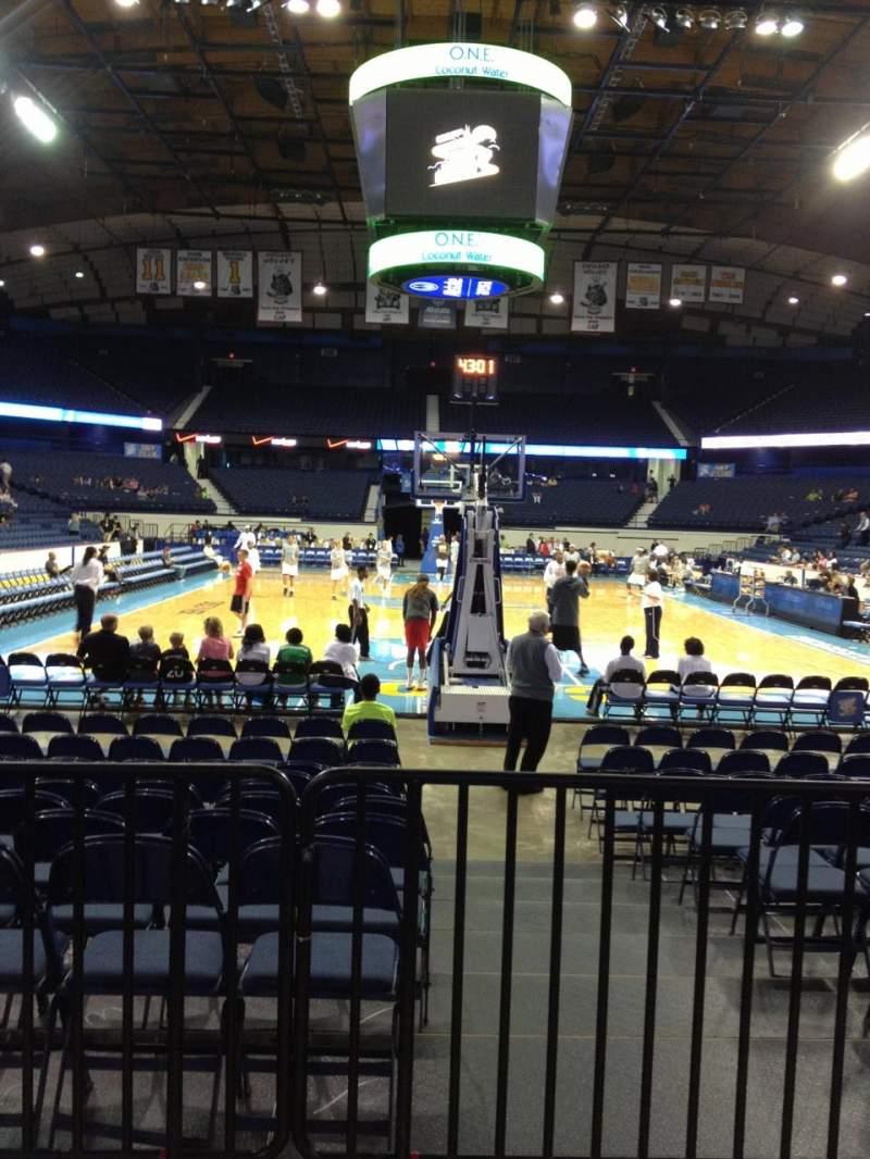 Uitzicht voor Allstate Arena Vak 115 Rij B Stoel 1