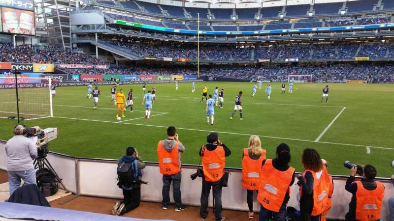 Yankee Stadium, vak: 134, rij: 1, stoel: 2