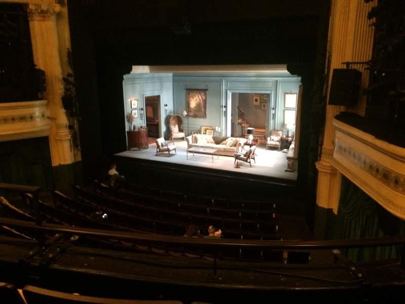 Uitzicht voor Hudson Theatre Vak Dress Circle Rij C Stoel 6