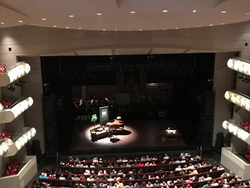 Kauffman Center for Performing Arts, vak: Balcony, rij: GZ, stoel: 109