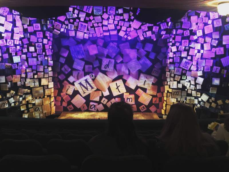 Uitzicht voor Shubert Theatre Vak Mezzanine Rij G Stoel 107