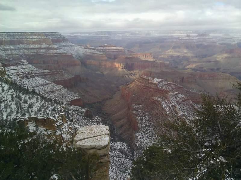 Uitzicht voor Grand Canyon