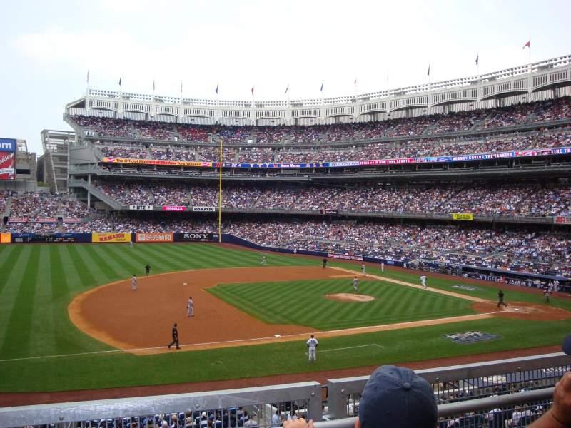 Yankee Stadium, vak: 226, rij: 2, stoel: 20