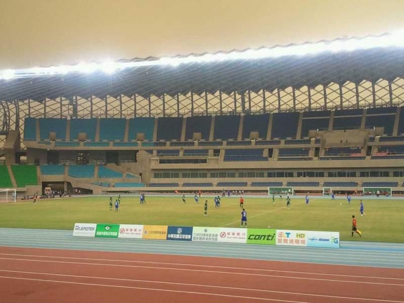 Uitzicht voor Kaohsiung National Stadium Vak outfield