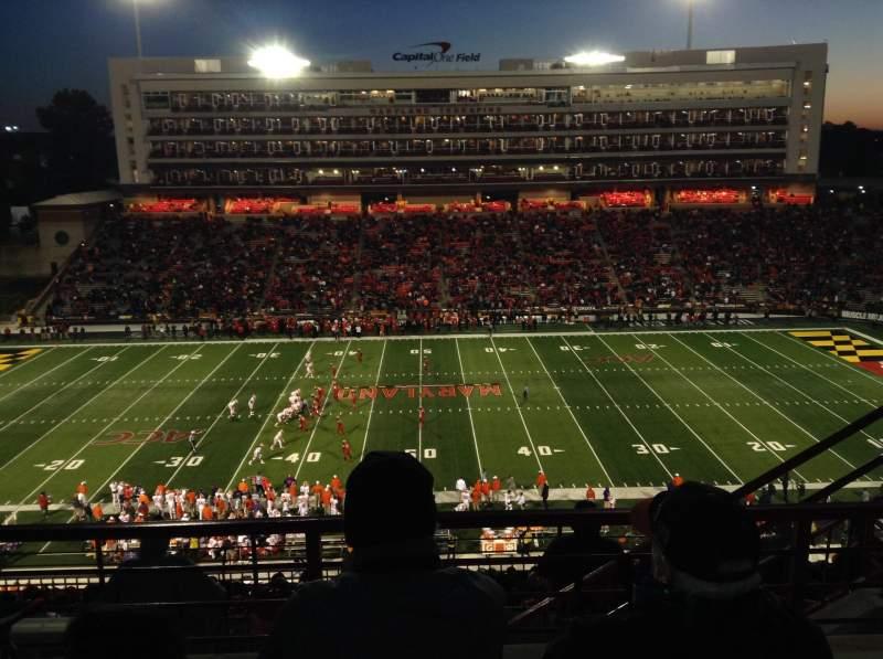Maryland Stadium, vak: 206, rij: M