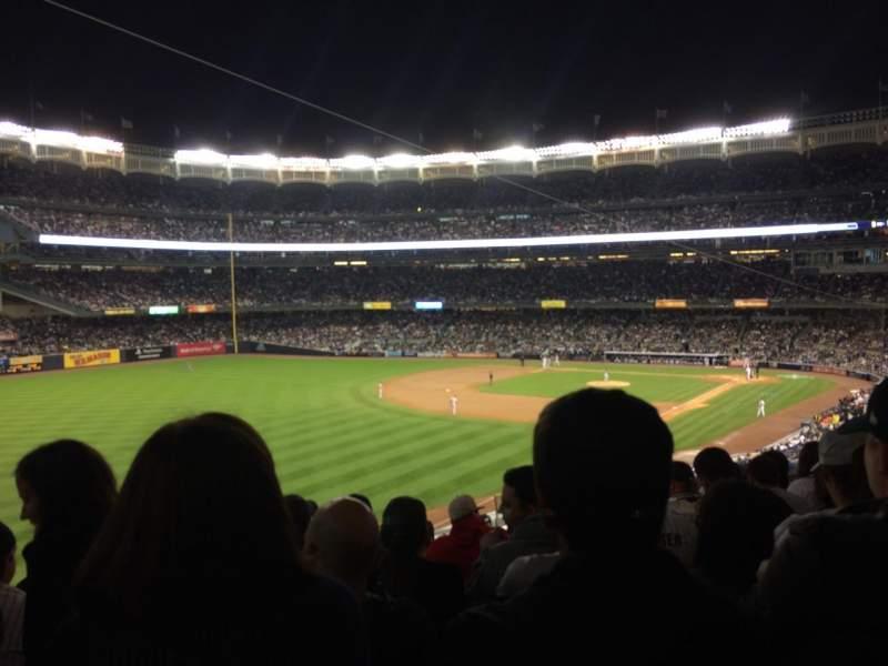 Yankee Stadium, vak: 231, rij: 10, stoel: 10