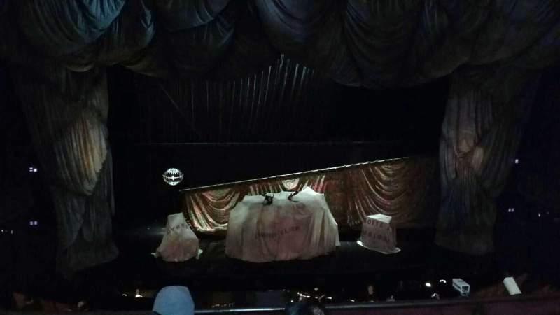 Uitzicht voor Majestic Theatre Vak FMezz Rij D Stoel 103