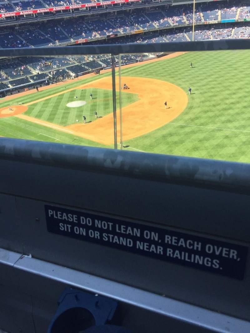 Yankee Stadium, vak: 311, rij: 1, stoel: 21