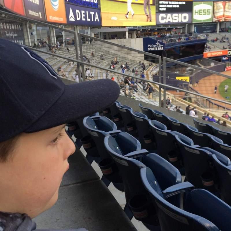 Yankee Stadium, vak: 234, rij: 11, stoel: 19
