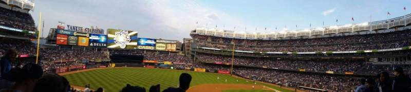 Yankee Stadium, vak: 226, rij: 14, stoel: 18