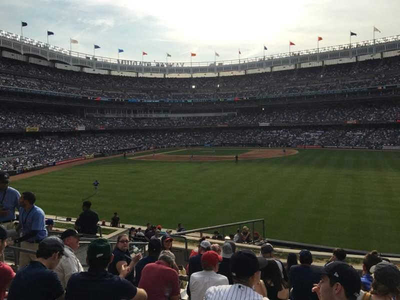 Yankee Stadium, vak: 202, rij: 10, stoel: 23