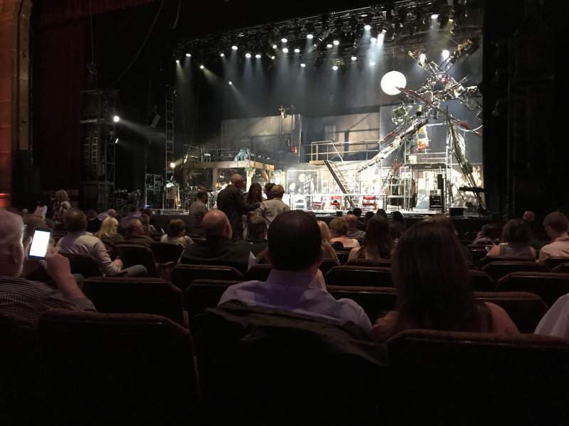 Uitzicht voor Fox Theatre (Atlanta) Vak ORCHRC Rij K Stoel 58