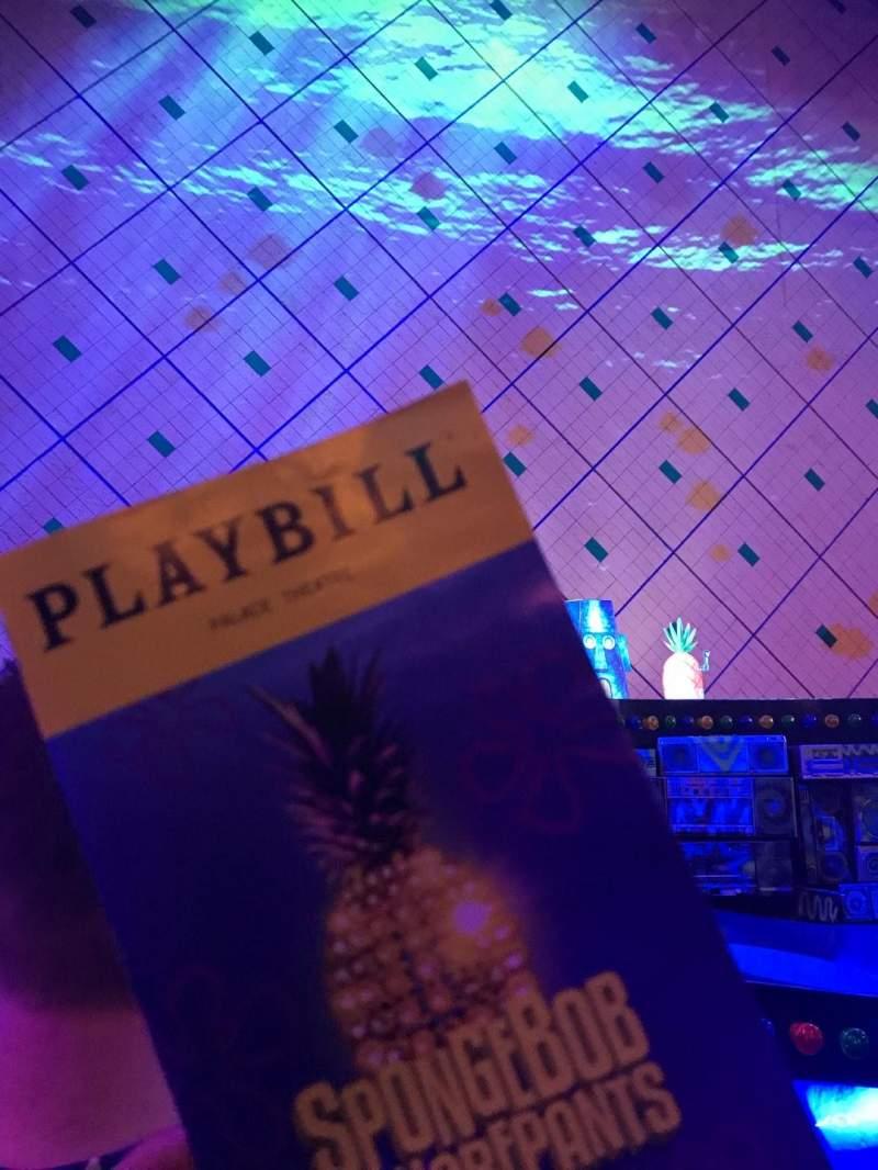 Palace Theatre (Broadway), vak: Orch, rij: C, stoel: 107