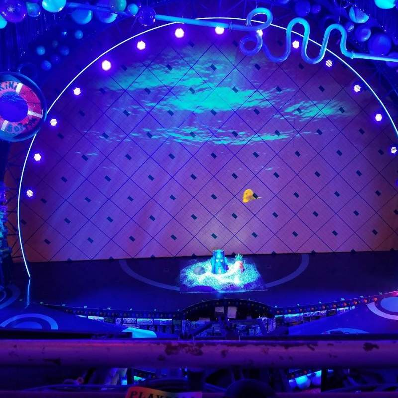 Palace Theatre (Broadway), vak: Mezzanine, rij: AA, stoel: 105
