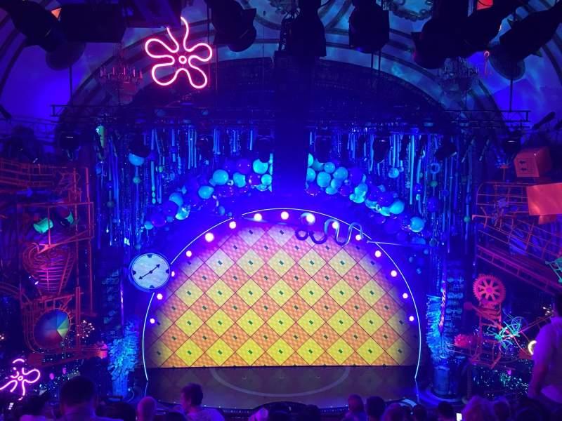 Palace Theatre (Broadway), vak: Mezz, rij: K, stoel: 101
