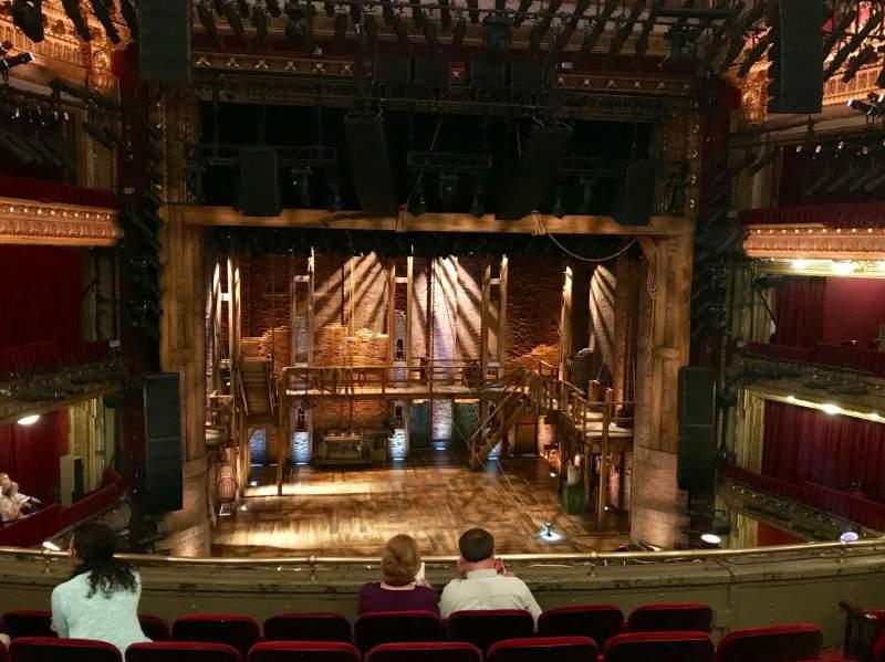CIBC Theatre, vak: Mezzanin LC, rij: F, stoel: 309
