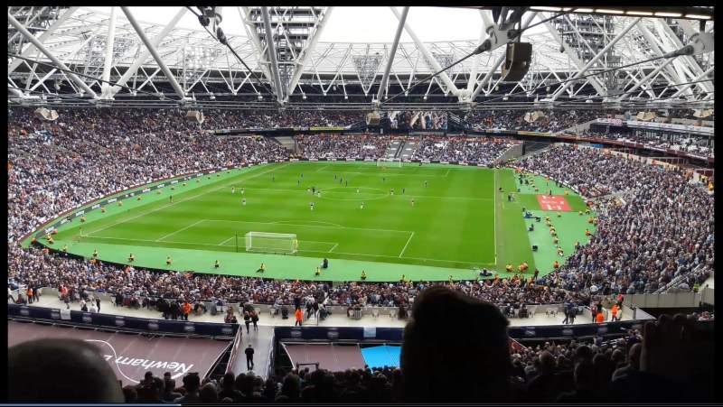 London Stadium, vak: 252, rij: 65, stoel: 795
