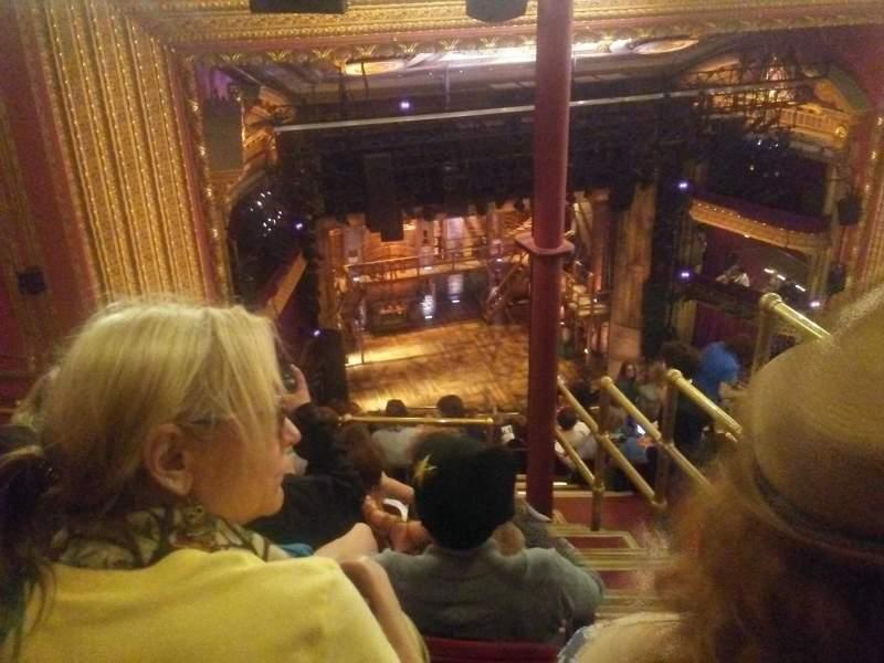 CIBC Theatre, vak: Balcony L, rij: N, stoel: 3