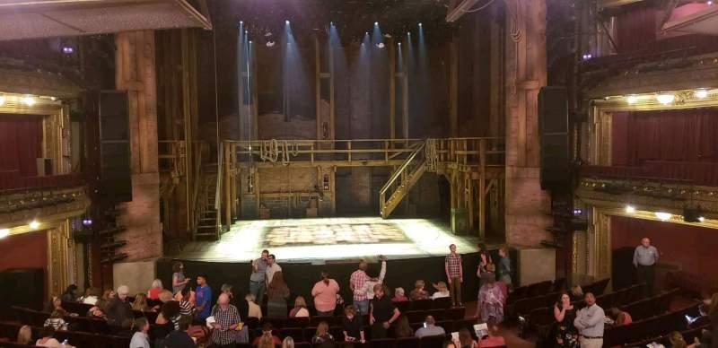 CIBC Theatre, vak: Dress Circle LC, rij: A, stoel: 203