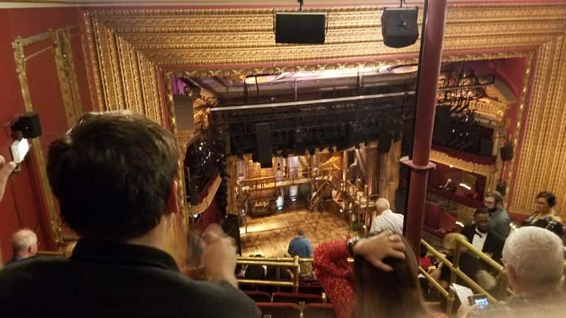 CIBC Theatre, vak: Balcony L, rij: N, stoel: 7