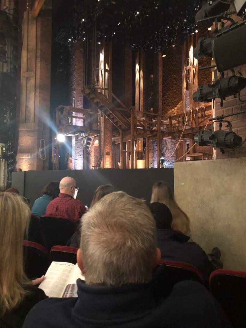 Uitzicht voor CIBC Theatre Vak Orchestra R Rij 1 Stoel 14