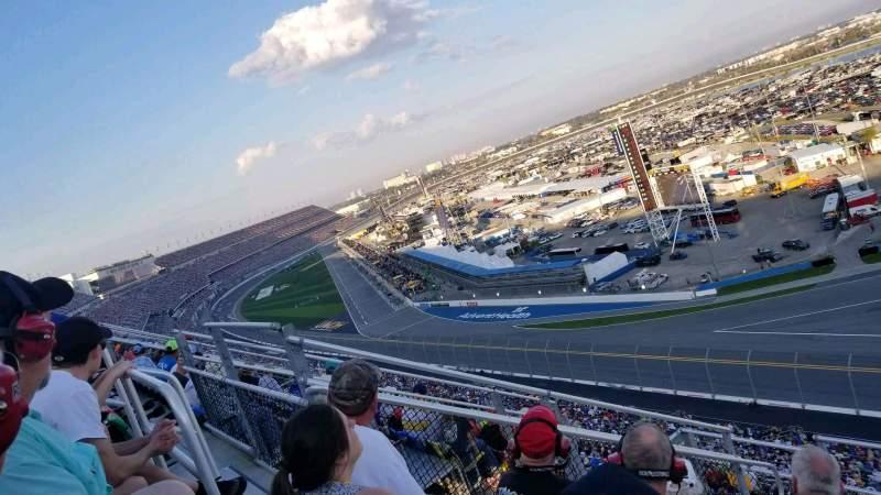 Uitzicht voor Daytona International Speedway Vak 489 Rij 29 Stoel 12